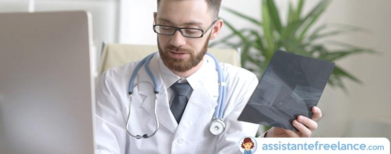 Frappe de comptes rendus médicaux : la saisie externalisée